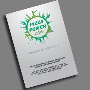 Eat Balanced frozen wholesale healthy pizza brochure