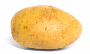 Baking Potato side view